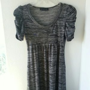 American City Wear black & gray dress